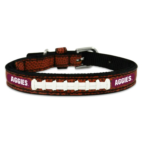 Gamewear NCAA Classic Football Dog Collar
