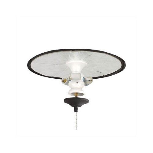 Belleria Three Light Ceiling Fan Light Fitter For Wet Locations
