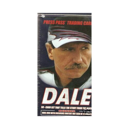 Press Pass NASCAR Press Pass Dale Earnhardt Collectors Tin Playing Cards