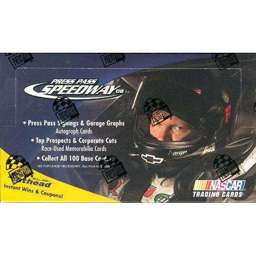 Press Pass NASCAR 2008 Press Pass Speedway Race Playing Cards (36 Packs)