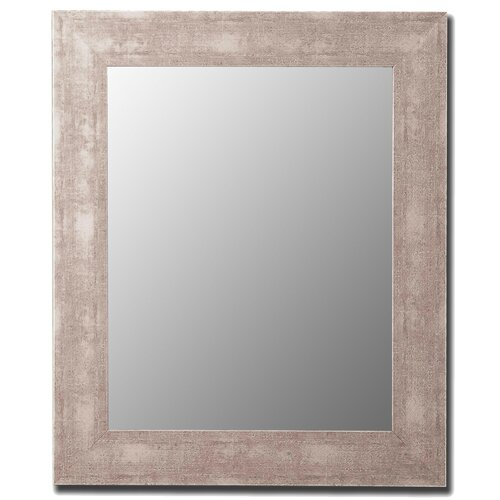 Hitchcock Butterfield Company Aosta Silver Framed Wall Mirror