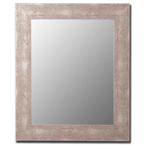 Aosta Silver Framed Wall Mirror