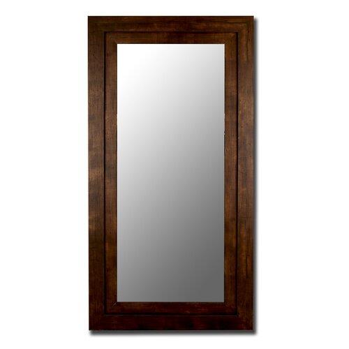 Mocha Walnut Grande Framed Wall Mirror