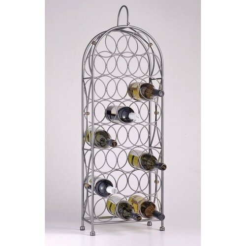 Oenophilia Bordeaux Chateau 23 Bottle Wine Rack