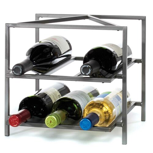 Oenophilia Trifeca 6 Bottle Wine Rack