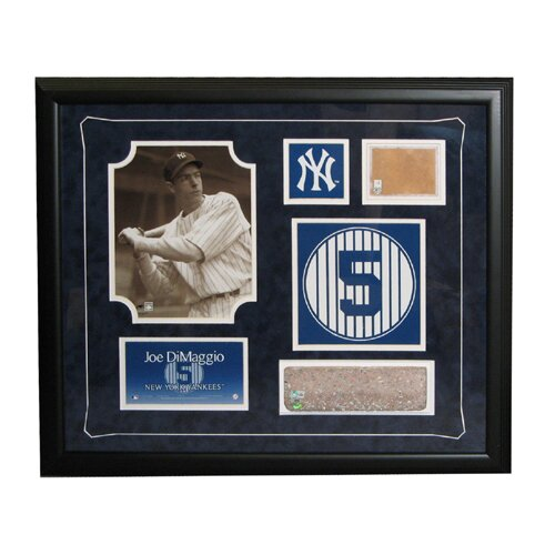 Steiner Collage MLB Retired Number Joe Dimaggio - New York Yankees Framed Memorabilia