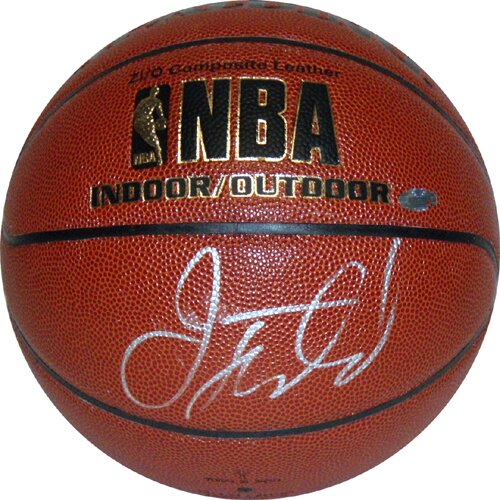 Jason Kidd Autographed Indoor / Outdoor Basketball