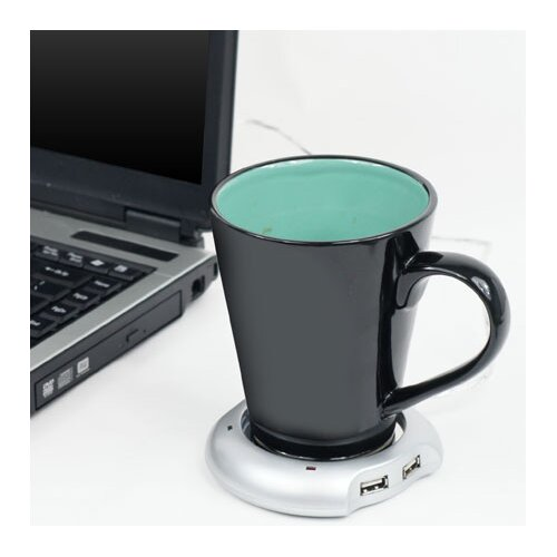 Northwest USB Powered Beverage Warmer with Four Port Hub