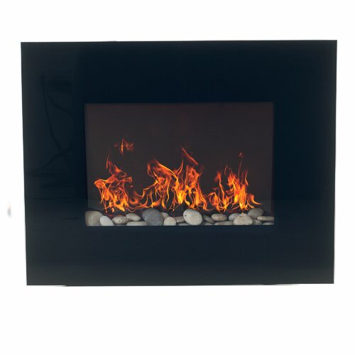 northwest glass wall mount electric fireplace reviews