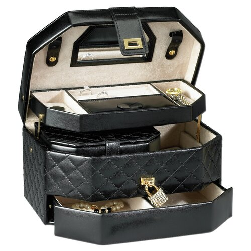 Black Diamond Large Jewelry Box