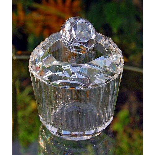 Diamond Shaped Crystal Trinket Box