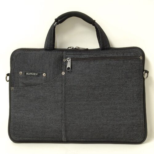 Sumdex Denim Slim Laptop Briefcase