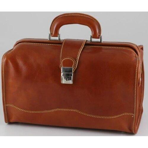 Verona Giotto Leather Travel Duffel