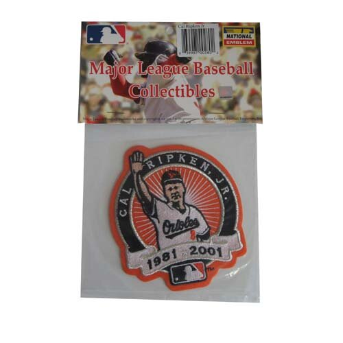 MLB Player Logo Patch