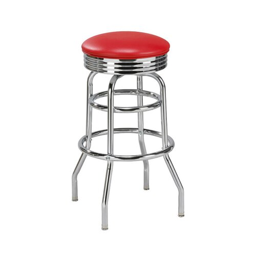"Regal New Retro Express 30"" Swivel Bar Stool"