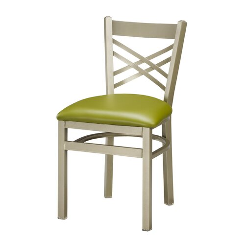 Regal Steel X Back Side Chair