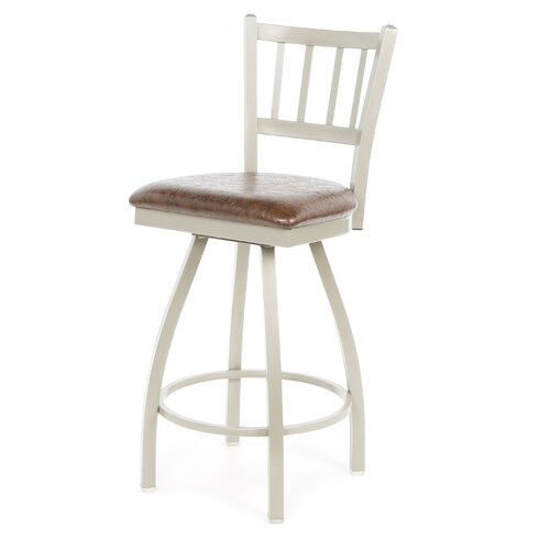 "Regal Jailhouse 30"" Swivel Bar Stool"