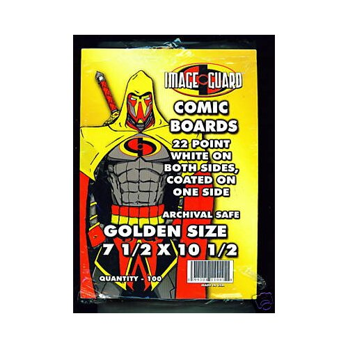 Image Guard Golden Age Size Comic Backing Board