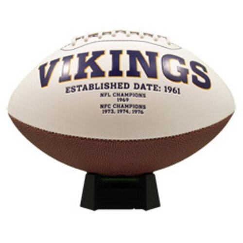 K2 NFL Signature Series Full Size Ball Figurine