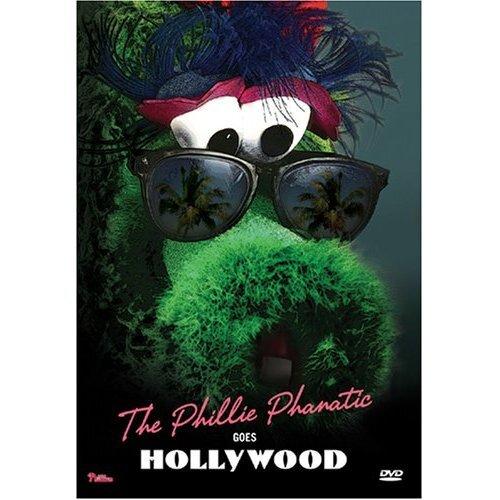 MLB DVD The Phillie Phanatic Goes Hollywood - Philadelphia Phillies