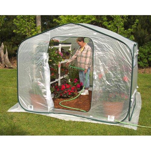 Flowerhouse Dreamhouse 6' x 8' Polyethylene Greenhouse