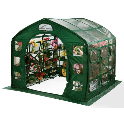 Flowerhouse FarmHouse 9' x 9' Clear PVC Greenhouse