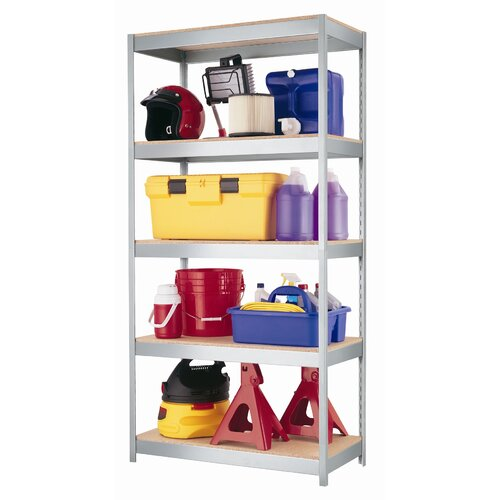 "CommClad 1000 Series 72"" H 5 Shelf Shelving Unit Starter"