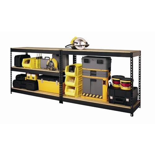 """CommClad Horse Rivet 72"""" H 5 Shelf Shelving Unit Starter"""