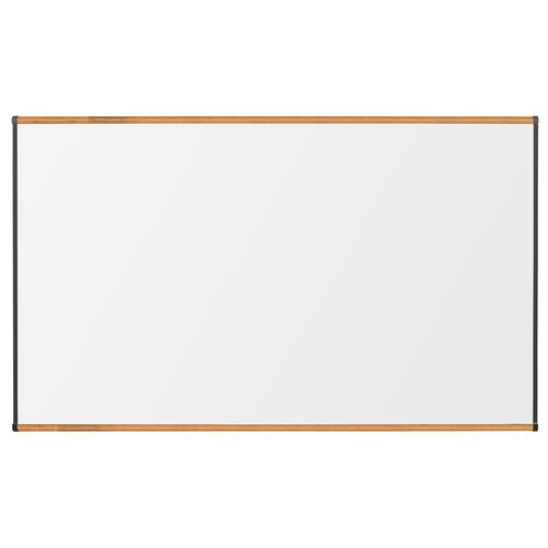 "CommClad 48"" x 48"" Thermal-Fused Melamine Whiteboard with Trim"