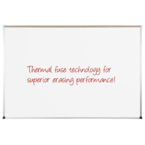 "CommClad Thermal-Fused 1' 6"" x 2' Dot Grid Whiteboard"