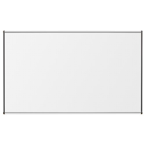 CommClad Thermal-Fused 4' x 8' Dot Grid Whiteboard