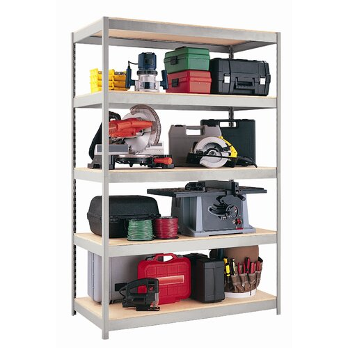 "CommClad 1500 Series 72"" H 4 Shelf Shelving Unit Starter"