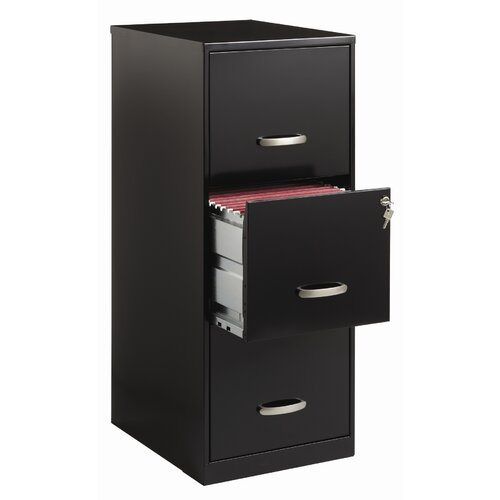 CommClad Soho 3 Drawer File Cabinet