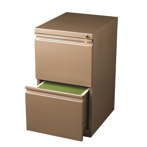 CommClad 2-Drawer Mobile Pedestal