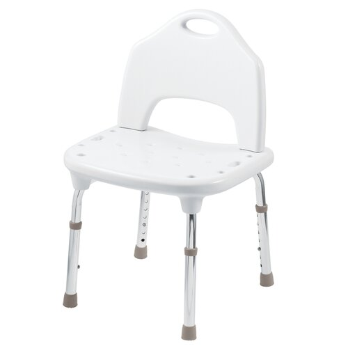 Adjustable Tool Free Shower Chair