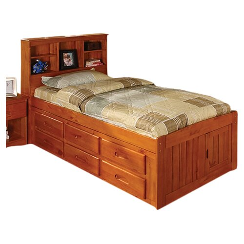 Discovery World Furniture Weston Captain's Bookcase Bed
