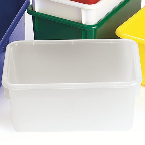 Angeles Value Line Cubbie Trays in White