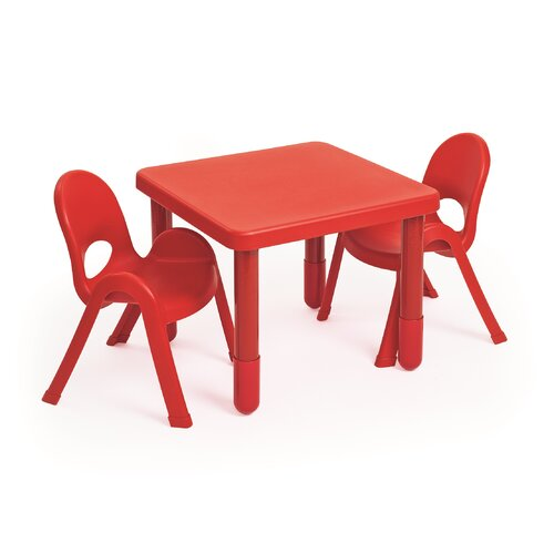 MyValue Set 2 Kids Square Writing Table