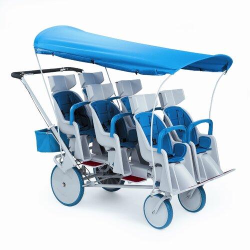 Runabout 6-Passenger Tandem Stroller