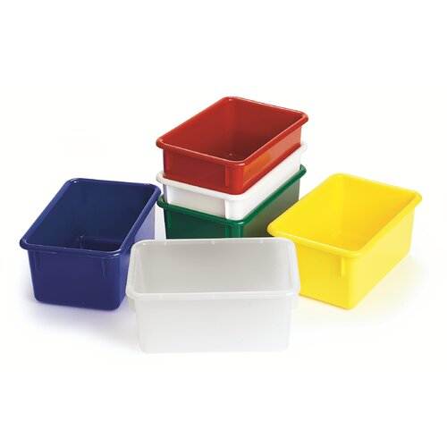 """Angeles Value Line 11"""" Cubbie Trays in Green"""