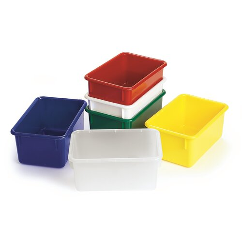 Angeles Value Line Cubbie Trays in Yellow