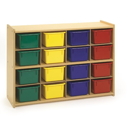 Angeles Value Line 16 Compartment Cubby