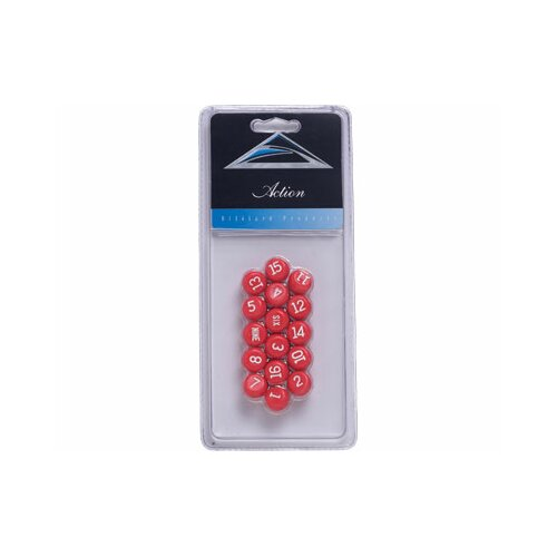 Cuestix Gameroom Accessories Pill Balls - Red