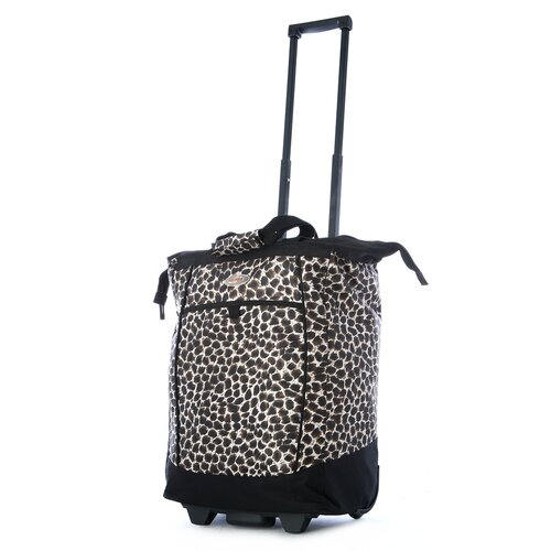 Fashion Leopard Rolling Shopping Tote