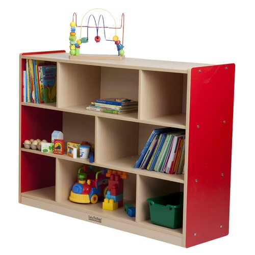 ECR4kids Colorful Essentials™ Storage Cabinets - 8 Compartments - 36""