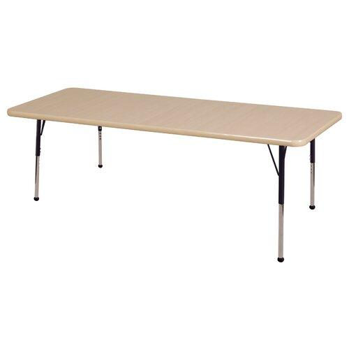 "ECR4kids 72"" x 30"" Rectangular Classroom Table"
