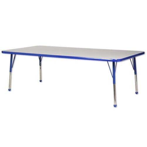 "ECR4kids 72"" x 36"" Rectangular Classroom Table"