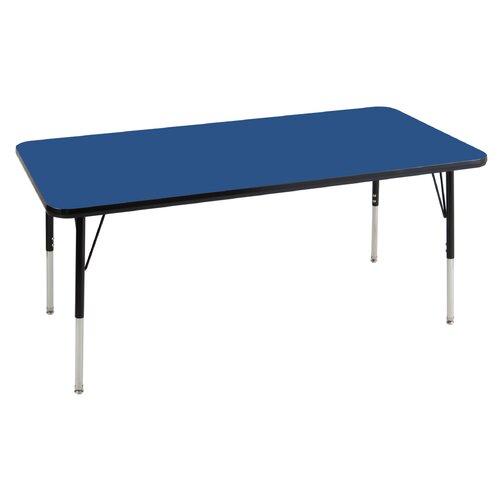 "ECR4kids 30"" x 60"" Rectangular Adjustable Activity Table"