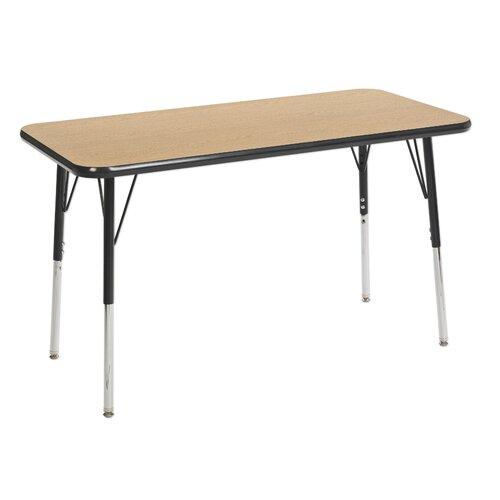 "ECR4kids 24"" x 48"" Rectangular Adjustable Activity Table"