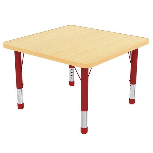 "ECR4kids 48"" Square Classroom Table"